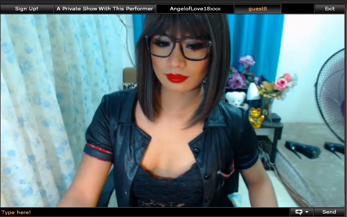 Sexy ladyboy Angeloflove18xxx