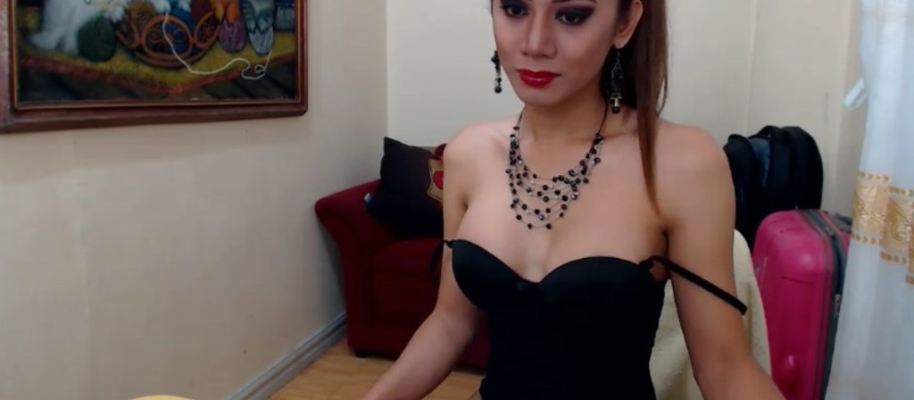 Ladyboy IngridPassionn sexy in black