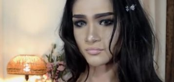 Ladyboy Lourdes with her sweet face