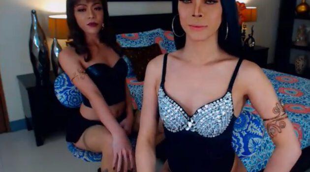 Two Ladyboys on cam