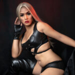 Transgender model Cherry live from a cozy room